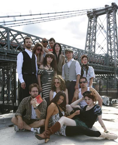 Williamsburg: The Musical cast